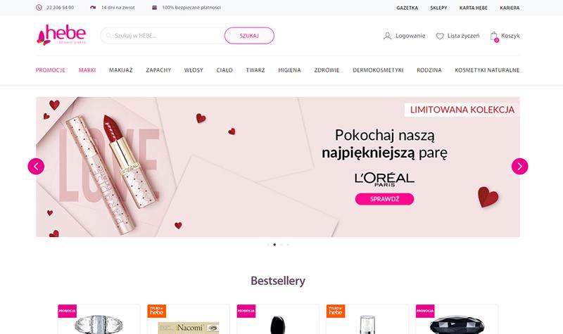 różowy kolor w reklamie