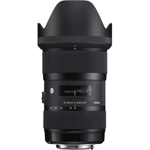 Wypożyczalnia Sigma 18 35 mm f1.8 DC HSM ART Canon